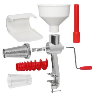 Victorio Food Strainer and Sauce Maker with Four-Piece Accessory Pack