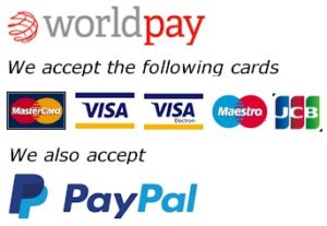 Payment logo worldpay paypal
